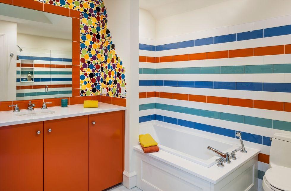 bathroom tile ideas Follow 27 Bathroom Tile Ideas For A Colorful Decor Follow 27 Bathroom Tile Ideas For A Colorful Decor 1