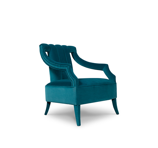 Cayo armchair from Brabbu world's favorite color How To Decorate Luxury Bathrooms With The World's Favorite Color How To Decorate Luxury Bathrooms With The Worlds Favorite Color 1