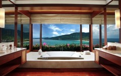 10 Hotel Bathrooms with Stunning Views. To see more Luxury Bathroom ideas visit us at www.luxurybathrooms.eu #luxurybathrooms #homedecorideas #bathroomideas @BathroomsLuxury 10 Hotel Bathrooms with Stunning Views 10 Hotel Bathrooms with Stunning Views 10 hotel bathrooms with stunning views cover 240x150