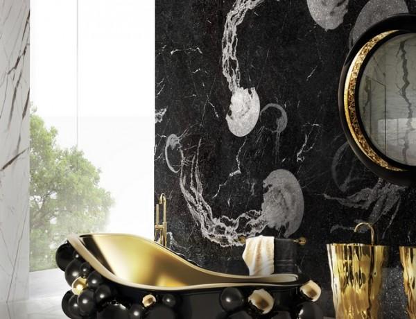 10 Unusual and Unique Bathtub Designs. To see more Luxury Bathroom ideas visit us at www.luxurybathrooms.eu #luxurybathrooms #homedecorideas #bathroomideas @BathroomsLuxury Dark Indulgence: Black Bathtubs to Die For Dark Indulgence: Black Bathtubs to Die For 2 newton bathtubs maison valentina HR 600x460