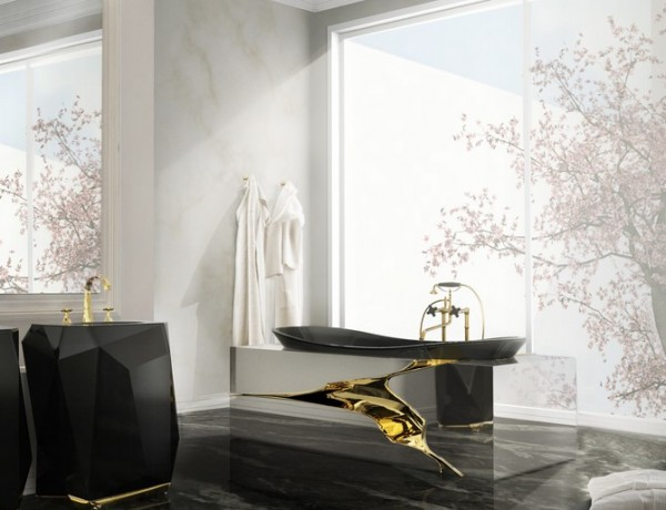 Bathroom Remodeling Projects for 2016. To see more Luxury Bathroom ideas visit us at www.luxurybathrooms.eu #luxurybathrooms #homedecorideas #bathroomideas @BathroomsLuxury Bathroom Remodeling Projects for 2016 Bathroom Remodeling Projects for 2016 7 lapiaz bathtub diamond freestand maison valentina HR 600x460