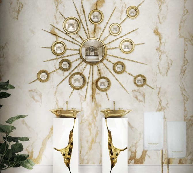 Marble Bathroom Designs to Inspire You. To see more Luxury Bathroom ideas visit us at www.luxurybathrooms.eu #luxurybathrooms #homedecorideas #bathroomideas @BathroomsLuxury Marble Bathroom Designs to Inspire You Marble Bathroom Designs to Inspire You 8 lapiaz freestand apollo mirror maison valentina HR 670x600 luxury bathroom 24 Stunning Luxury Bathroom Ideas For His-and-Hers Bathroom Sinks 8 lapiaz freestand apollo mirror maison valentina HR 670x600