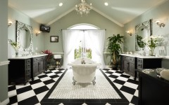 10 Eye-Catching and Luxurious Black and White Bathroom Ideas ➤To see more Luxury Bathroom ideas visit us at www.luxurybathrooms.eu #luxurybathrooms #homedecorideas #bathroomideas @BathroomsLuxury black and white bathroom ideas 10 Eye-Catching and Luxurious Black and White Bathroom Ideas 10 Eye Catching and Luxurious Black and White Bathroom Ideas 240x150