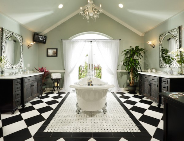 10 Eye-Catching and Luxurious Black and White Bathroom Ideas ➤To see more Luxury Bathroom ideas visit us at www.luxurybathrooms.eu #luxurybathrooms #homedecorideas #bathroomideas @BathroomsLuxury black and white bathroom ideas 10 Eye-Catching and Luxurious Black and White Bathroom Ideas 10 Eye Catching and Luxurious Black and White Bathroom Ideas 600x460