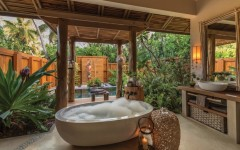 10 Stunning Tropical Bathroom Décor Ideas to Inspire You ➤To see more Luxury Bathroom ideas visit us at www.luxurybathrooms.eu #luxurybathrooms #homedecorideas #bathroomideas @BathroomsLuxury tropical bathroom 10 Eye-Catching Tropical Bathroom Décor Ideas That Will Mesmerize You 10 Stunning Tropical Bathroom De  cor Ideas to Inspire You 240x150