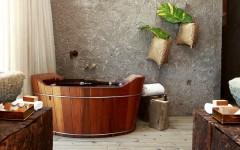 10 Fabulous Wooden Luxury Bathroom Ideas to Inspire You ➤To see more Luxury Bathroom ideas visit us at www.luxurybathrooms.eu #luxurybathrooms #homedecorideas #bathroomideas @BathroomsLuxury