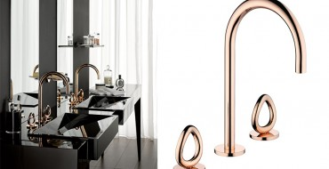 Luxury Bathrooms: Rose Gold is design trend ➤To see more Luxury Bathroom ideas visit us at www.luxurybathrooms.eu #luxurybathrooms #homedecorideas #bathroomideas @BathroomsLuxury Luxury Bathrooms: Rose Gold is Design Trend Luxury Bathrooms: Rose Gold is Design Trend Luxury Bathrooms Rose Gold is design trend 2 370x190