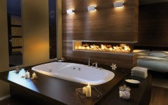 10 Mesmerizing Luxury Bathrooms with Fireplaces That You Will Love ➤To see more Luxury Bathroom ideas visit us at www.luxurybathrooms.eu #luxurybathrooms #homedecorideas #bathroomideas @BathroomsLuxury luxury bathrooms with fireplaces 10 Mesmerizing Luxury Bathrooms with Fireplaces That You Will Love 10 Mesmerizing Luxury Bathrooms with Fireplaces That You Will 240x150