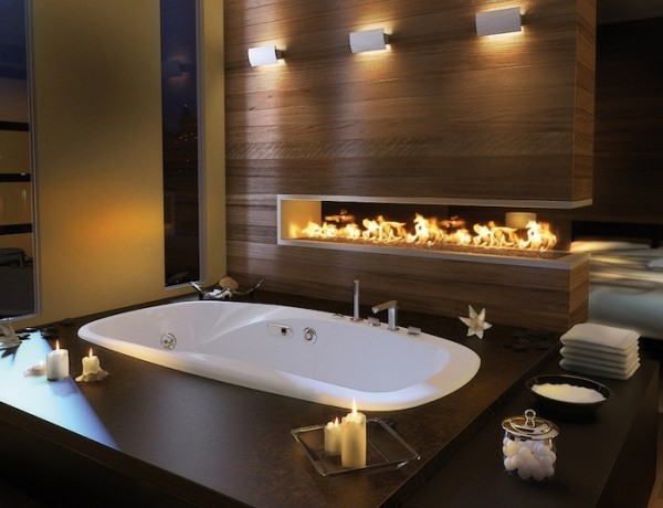 10 Mesmerizing Luxury Bathrooms with Fireplaces That You Will Love ➤To see more Luxury Bathroom ideas visit us at www.luxurybathrooms.eu #luxurybathrooms #homedecorideas #bathroomideas @BathroomsLuxury luxury bathrooms with fireplaces 10 Mesmerizing Luxury Bathrooms with Fireplaces That You Will Love 10 Mesmerizing Luxury Bathrooms with Fireplaces That You Will 600x460