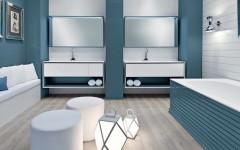 Salone del Mobile 2016: Oasis Presents Exclusive Art Deco Bathroom Designs ➤To see more Luxury Bathroom ideas visit us at www.luxurybathrooms.eu #luxurybathrooms #homedecorideas #bathroomideas @BathroomsLuxury