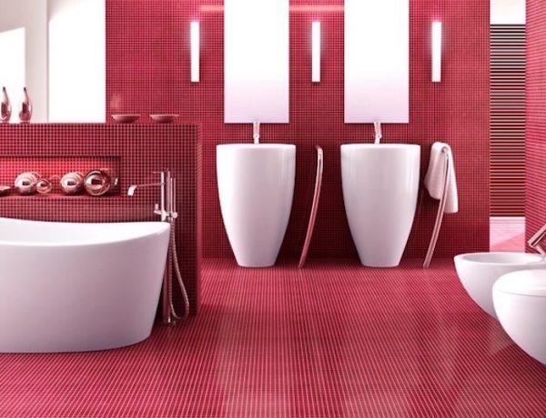 10 Smashing Bold Colorful Bathrooms That You Will Covet ➤To see more Luxury Bathroom ideas visit us at www.luxurybathrooms.eu #luxurybathrooms #homedecorideas #bathroomideas @BathroomsLuxury colorful bathrooms 10 Smashing Bold Colorful Bathrooms That You Will Covet 10 Smashing Bold Colorful Bathrooms That You Will Covet 600x460