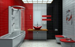 10 Striking Color Scheme Ideas for Bathrooms That Will Inspire You ➤To see more Luxury Bathroom ideas visit us at www.luxurybathrooms.eu #luxurybathrooms #homedecorideas #bathroomideas @BathroomsLuxury