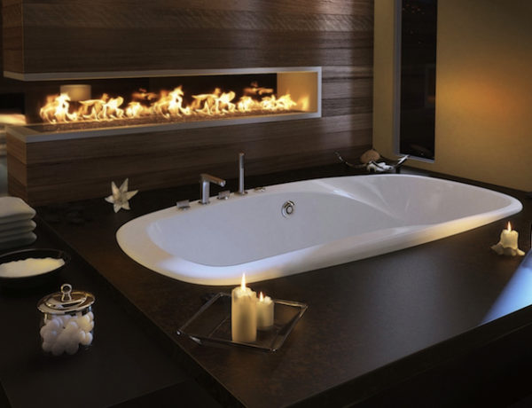 How to Spruce Up Luxury Bathrooms with Fireplaces ➤To see more Luxury Bathroom ideas visit us at www.luxurybathrooms.eu #luxurybathrooms #homedecorideas #bathroomideas @BathroomsLuxury luxury bathrooms with fireplaces How to Spruce Up Luxury Bathrooms with Fireplaces How to Spruce Up Luxury Bathrooms with Fireplaces 600x460