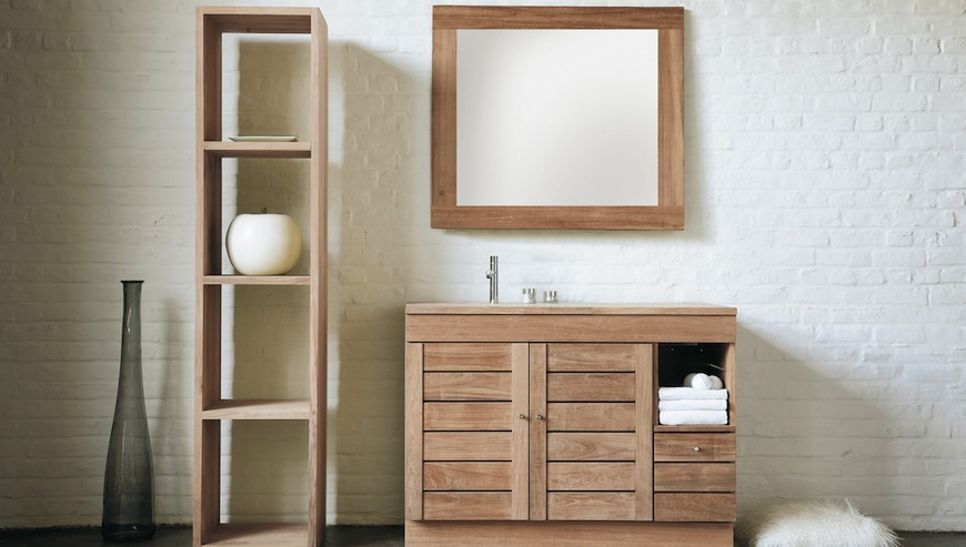 Pamper Your Home with These Amazing Wooden Bathroom Cabinets ➤To see more Luxury Bathroom ideas visit us at www.luxurybathrooms.eu #luxurybathrooms #homedecorideas #bathroomideas @BathroomsLuxury bathroom Pamper Your Home with These Amazing Wooden Bathroom Cabinets Pamper Your Home with These Amazing Wooden Bathroom Cabinet Ideas 1