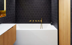 Bathroom Ideas: How to Combine Black, Brass, White and Wood Perfectly ➤To see more Luxury Bathroom ideas visit us at www.luxurybathrooms.eu #luxurybathrooms #homedecorideas #bathroomideas @BathroomsLuxury bathroom ideas Bathroom Ideas: How to Combine Black, Brass, White and Wood Perfectly Bathroom Ideas How to Combine Black Brass White and Wood Perfectly 240x150