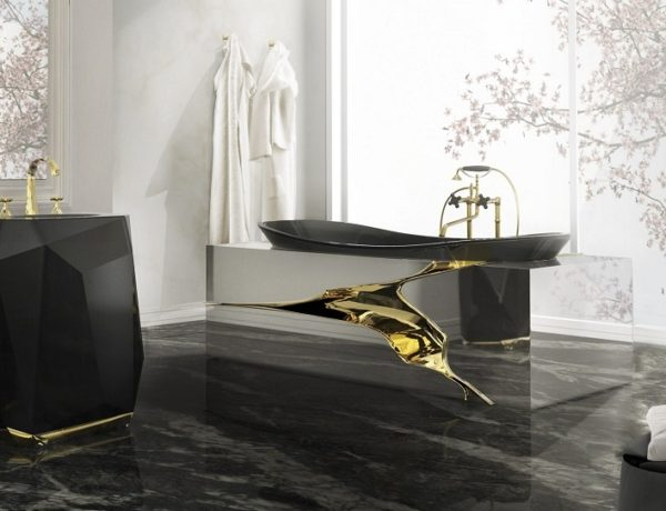 Outstanding Top 10 Black Luxury Bathroom Design Ideas ➤To see more Luxury Bathroom ideas visit us at www.luxurybathrooms.eu #luxurybathrooms #homedecorideas #bathroomideas @BathroomsLuxury luxury bathroom design ideas Outstanding Top 10 Black Luxury Bathroom Design Ideas feat 3 600x460