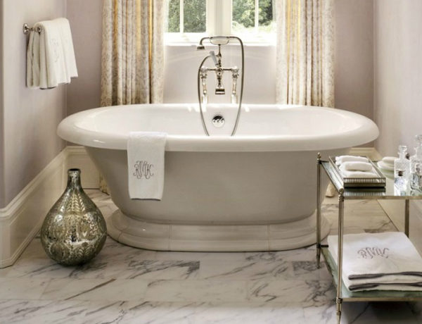 ad 100 list AD 100 List 2017: Bathroom Décor by Top Interior Designers (Part 2) feat3 600x460