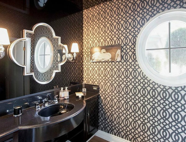 modern bathrooms Explore Unique Modern Bathrooms In Black And White feat 1 600x460