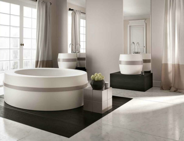 most beautiful bathtubs Make Your Luxury Bathroom Sparkle With The 50 Most Beautiful Bathtubs feat 5 600x460