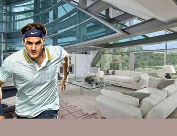 roger federer Get Your Own Luxury Bathroom Inspired by Roger Federer's Houses Get Your Own Luxury Bathroom Inspired by Roger Federers Houses 2 1 600x460