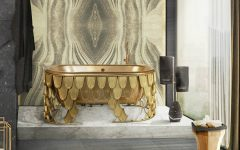luxury bathroom How To Decorate Your Luxury Bathroom With Gold feat 240x150