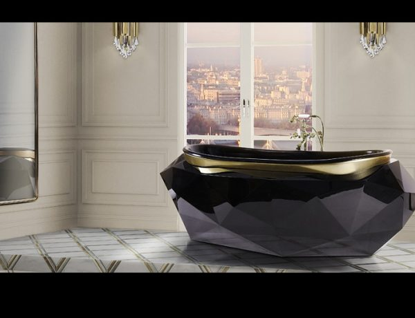 luxury bathrooms decor ideas Be Inspired By 5 Most Luxury Bathrooms Decor Ideas diamond bathtub 6 600x460