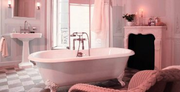 pink luxury bathroom Pink Luxury Bathroom Ideas That Will Make Your Home Decor Sparkle feat 370x190