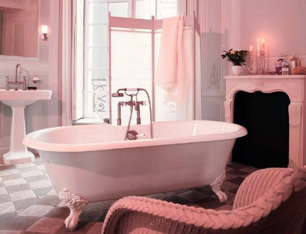 pink luxury bathroom Pink Luxury Bathroom Ideas That Will Make Your Home Decor Sparkle feat 600x460