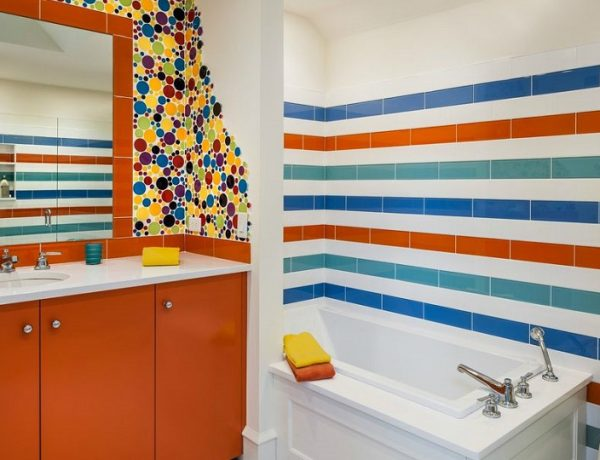 bathroom tile ideas Follow 27 Bathroom Tile Ideas For A Colorful Decor feat 2 600x460