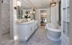 Hollywood Home Peek Inside Luxury Bathrooms From Kendall Jenner's Hollywood Home 4 1502395007 1 240x150