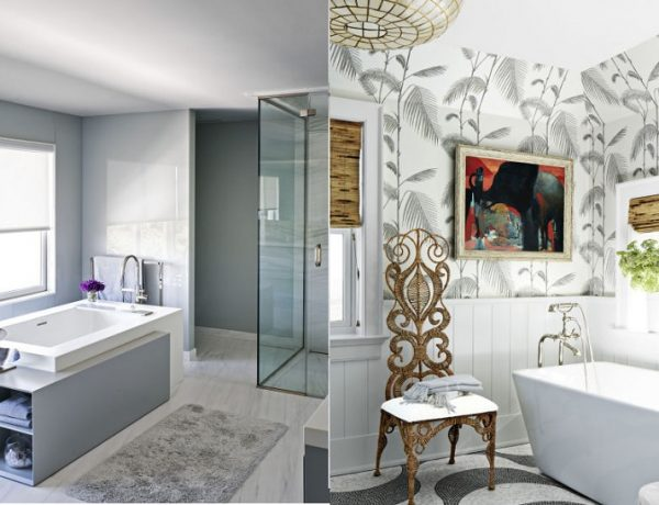 Get Your Spa Like Bathroom With Unique Grey Bathroom Design Ideas ➤ To see more news about Luxury Bathrooms in the world visit us at http://luxurybathrooms.eu/ #luxurybathrooms #interiordesign #homedecor @BathroomsLuxury @bocadolobo @delightfulll @brabbu @essentialhomeeu @circudesign @mvalentinabath @luxxu @covethouse_