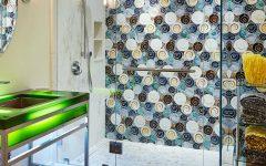 10 Beautiful Tile Ideas For A Bold Bathroom Interior Design ➤ To see more news about Luxury Bathrooms in the world visit us at http://luxurybathrooms.eu/ #luxurybathrooms #interiordesign #homedecor @BathroomsLuxury @bocadolobo @delightfulll @brabbu @essentialhomeeu @circudesign @mvalentinabath @luxxu @covethouse_