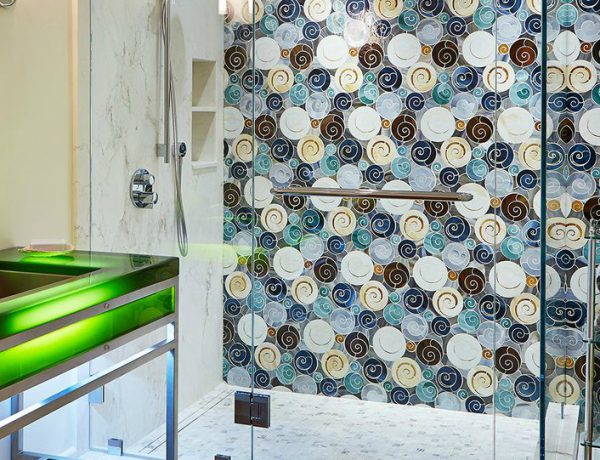 10 Beautiful Tile Ideas For A Bold Bathroom Interior Design ➤ To see more news about Luxury Bathrooms in the world visit us at http://luxurybathrooms.eu/ #luxurybathrooms #interiordesign #homedecor @BathroomsLuxury @bocadolobo @delightfulll @brabbu @essentialhomeeu @circudesign @mvalentinabath @luxxu @covethouse_ Bold Bathroom Interior Design 10 Beautiful Tile Ideas For A Bold Bathroom Interior Design – Part 3 10 Beautiful Tile Ideas For A Bold Bathroom Interior Design Part 3 feat 600x460