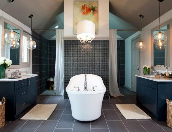 Luxurious Bathroom Makeovers Be Inspired By Luxurious Bathroom Makeovers From HGTV Stars Luxury bathrooms bathroom interior design bathroom decor ideas 600x460
