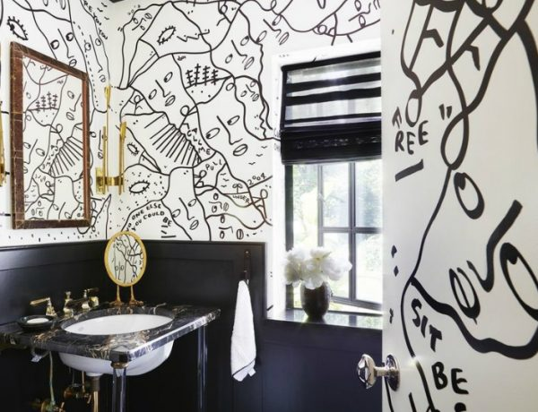 Black and White Bathrooms Draw Inspiration from Timeless and Glamorous Black and White Bathrooms featured 600x460