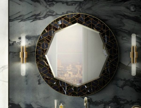 salone del mobile 2018 A Rhapsody for Wall Mirrors to Be Sensed at Salone del Mobile 2018 Maison Valentinas Iconic Bathroom Designs at Salone del Mobile 2018 2 600x460