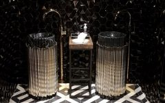 drake's pick 6ix Drake's Pick 6ix Restaurant Presents an Upscale Bathroom Design featured 240x150