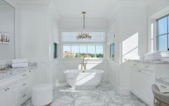 bathroom designs Gaze at 10 of the Most Exquisite Bathroom Designs from Celebrity Homes featured 16 240x150