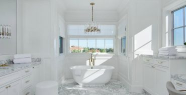 bathroom designs Gaze at 10 of the Most Exquisite Bathroom Designs from Celebrity Homes featured 16 370x190