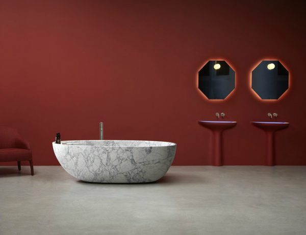 antoniolupi Product of the Week: Antoniolupi's Stunning Eclipse Bathtub in Marble featured 21 600x460