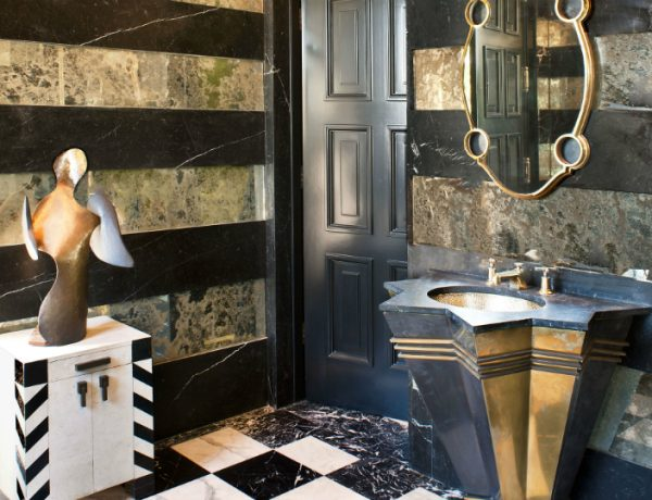 bathroom design The Most Iconic Bathroom Design Projects by Kelly Wearstler featured 600x460