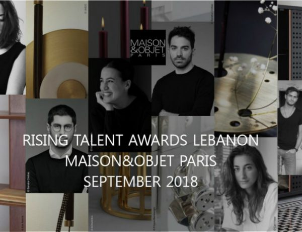 maison et objet paris Unveiling the Lebanese Rising Talents of Maison et Objet Paris 2018 featured 11 600x460