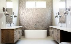 Eclectic Bathroom Designs Edgy and Eclectic Bathroom Designs of a Residential Project in Texas featured 6 240x150