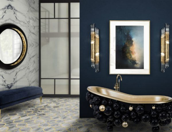 Bathroom Designs Color Trends: Navy Blue Emerges as Favorite to Use in Bathroom Designs feat 600x460