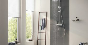 bathroom shower system Euphoria Smartcontrol is the New Bathroom Shower System by GROHE featured 1 370x190