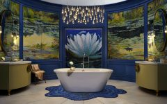 Luxury Bathroom Wilson Kelsey Designs Marvelous Luxury Bathroom Inspired by Monet featured 8 240x150
