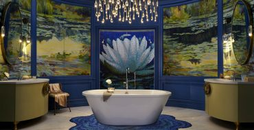 Luxury Bathroom Wilson Kelsey Designs Marvelous Luxury Bathroom Inspired by Monet featured 8 370x190