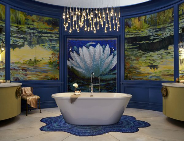 Luxury Bathroom Wilson Kelsey Designs Marvelous Luxury Bathroom Inspired by Monet featured 8 600x460