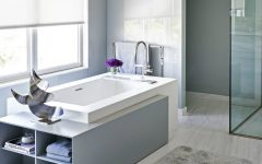 modern bathrooms See Amazing Ideas on How to Impeccably Decorate Modern Bathrooms featured 11 240x150