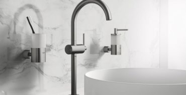 minimalist bathroom Appreaciate the Design of Minimalist Bathroom Faucets by Grohe featured 27 370x190